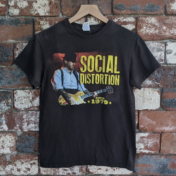 SOCIAL DISTORTION 1979 PUNK ROCK SHIRTS MEN/'S SIZES